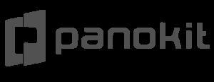 Logo Panokit gris sur fond transparent